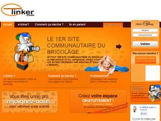 Site internet E-tinker