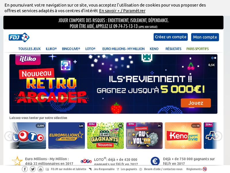 Statistique jeux de loto sportif fdj - Grille parions sport pdf ...
