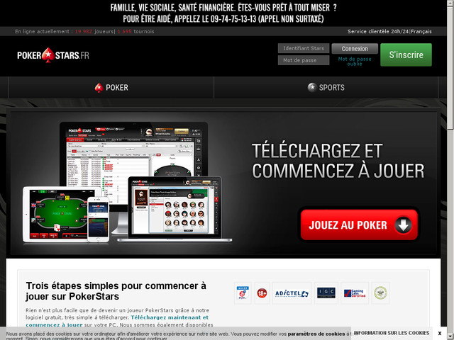 Site web PokerStars